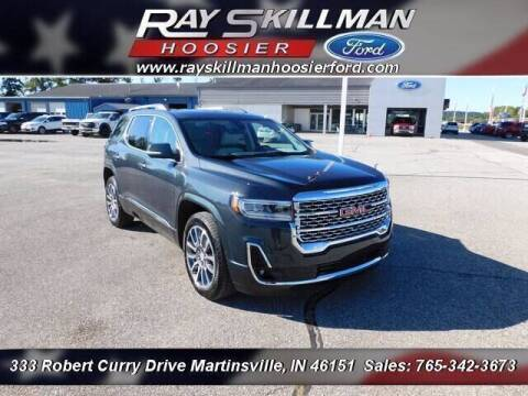 2021 GMC Acadia for sale at Ray Skillman Hoosier Ford in Martinsville IN