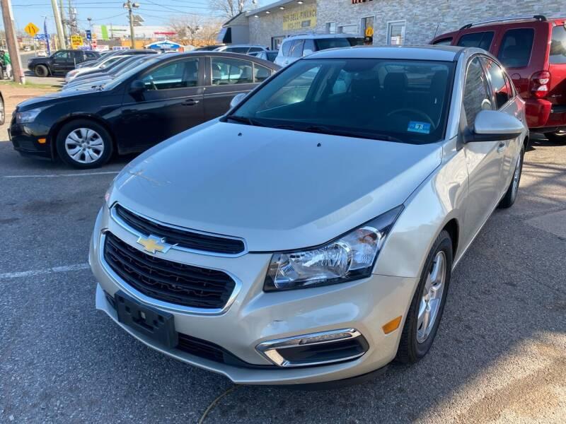 2015 Chevrolet Cruze for sale at MFT Auction in Lodi NJ