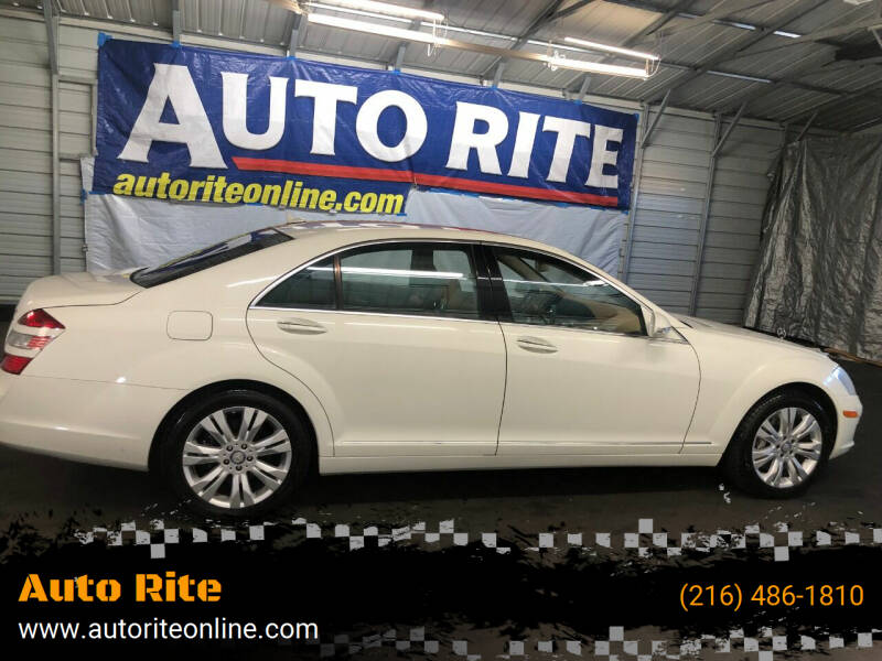 2009 Mercedes-Benz S-Class for sale at Auto Rite in Cleveland OH