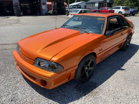 1990 Ford Mustang for sale at Trocci's Auto Sales in West Pittsburg PA
