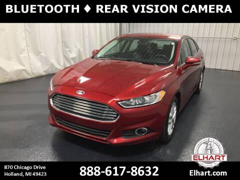 2016 Ford Fusion for sale at Elhart Automotive Campus in Holland MI