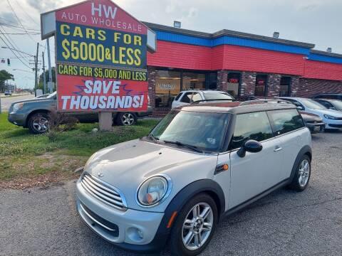 2011 MINI Cooper Clubman for sale at HW Auto Wholesale in Norfolk VA