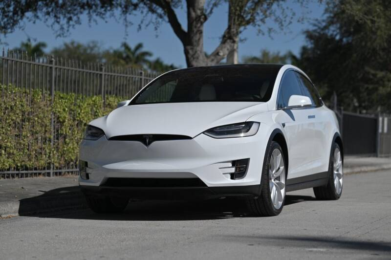 2016 Tesla Model X for sale at EURO STABLE in Miami FL
