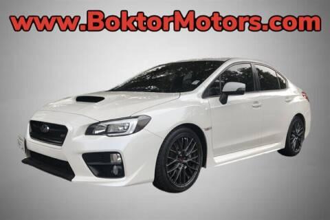2016 Subaru WRX for sale at Boktor Motors in North Hollywood CA