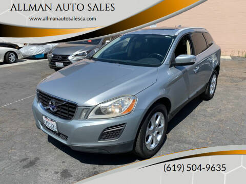 2012 Volvo XC60 for sale at ALLMAN AUTO SALES in San Diego CA