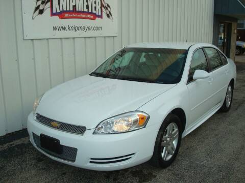 2016 Chevrolet Impala Limited for sale at Team Knipmeyer in Beardstown IL