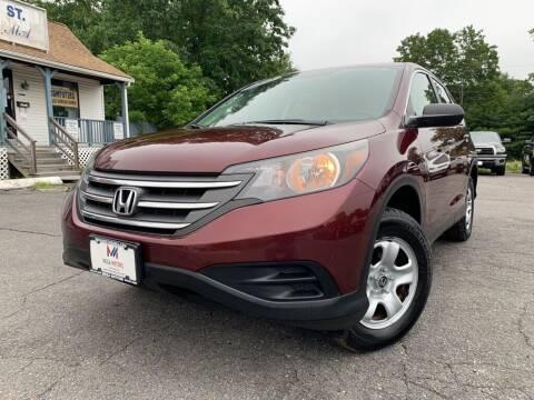 2012 Honda CR-V for sale at Mega Motors in West Bridgewater MA