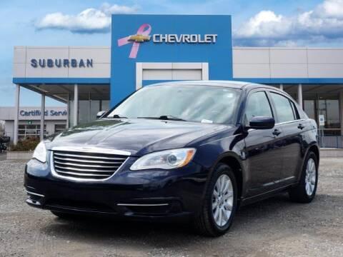 2011 Chrysler 200 for sale at Suburban Chevrolet of Ann Arbor in Ann Arbor MI