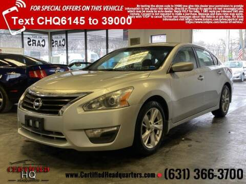 2013 Nissan Altima for sale at CERTIFIED HEADQUARTERS in St James NY