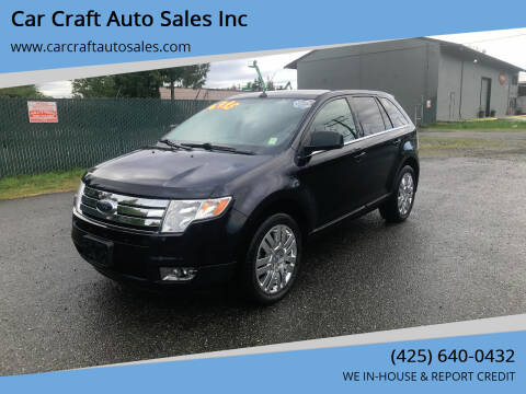 2010 Ford Edge for sale at Car Craft Auto Sales Inc in Lynnwood WA