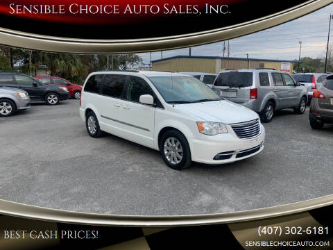 2013 Chrysler Town and Country for sale at Sensible Choice Auto Sales, Inc. in Longwood FL