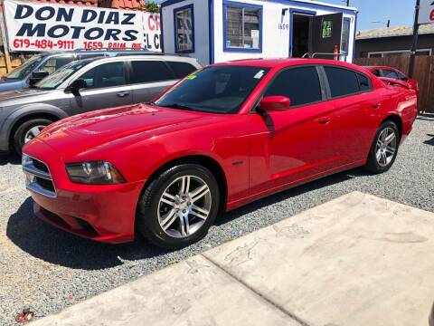 2012 Dodge Charger for sale at DON DIAZ MOTORS in San Diego CA