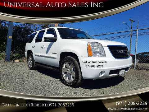 2007 GMC Yukon for sale at Universal Auto Sales Inc in Salem OR