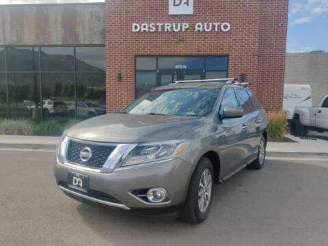 2015 Nissan Pathfinder for sale at Dastrup Auto in Lindon UT