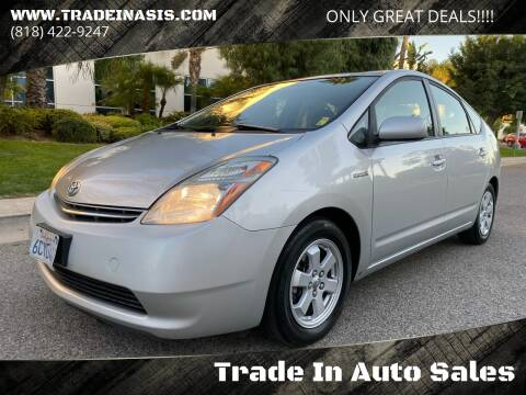 2008 Toyota Prius for sale at Trade In Auto Sales in Van Nuys CA