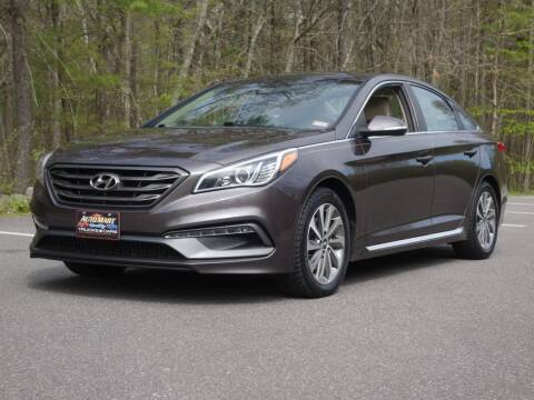 2015 Hyundai Sonata for sale at Auto Mart in Derry NH
