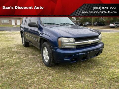 2004 Chevrolet TrailBlazer for sale at Dan's Discount Auto in Gaston SC