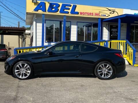 2013 Hyundai Genesis Coupe for sale at Abel Motors, Inc. in Conroe TX