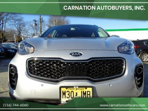 2018 Kia Sportage for sale at CarNation AUTOBUYERS, Inc. in Rockville Centre NY