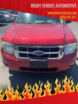 2008 Ford Escape for sale at Right Choice Automotive in Rochester NY
