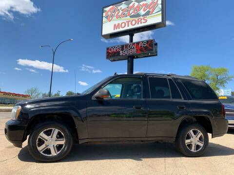 2007 Chevrolet TrailBlazer for sale at Victory Motors in Waterloo IA