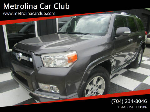 2013 Toyota 4Runner for sale at Metrolina Car Club in Matthews NC