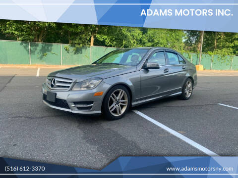 2012 Mercedes-Benz C-Class for sale at Adams Motors INC. in Inwood NY