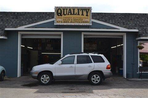 2003 Hyundai Santa Fe for sale at Quality Pre-Owned Automotive in Cuba MO