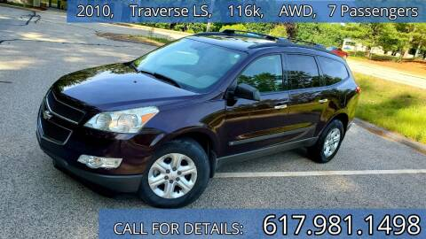 2010 Chevrolet Traverse for sale at Wheeler Dealer Inc. in Acton MA