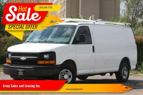 2014 Chevrolet Express Cargo for sale at Ariay Sales and Leasing Inc. in Denver CO