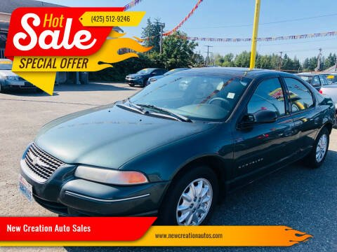 2000 Chrysler Cirrus for sale at New Creation Auto Sales in Everett WA