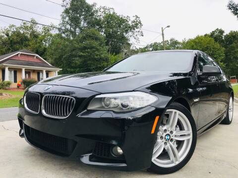 2013 BMW 5 Series for sale at Cobb Luxury Cars in Marietta GA