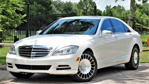 2013 Mercedes-Benz S-Class for sale at Texas Auto Corporation in Houston TX