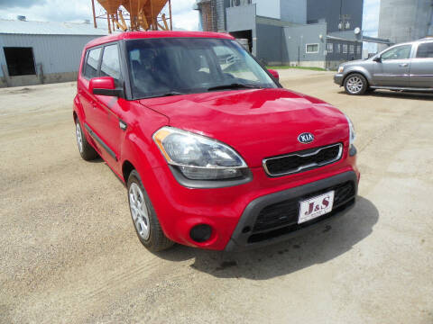 2013 Kia Soul for sale at J & S Auto Sales in Thompson ND