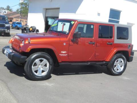 2009 Jeep Wrangler Unlimited for sale at Price Auto Sales 2 in Concord NH