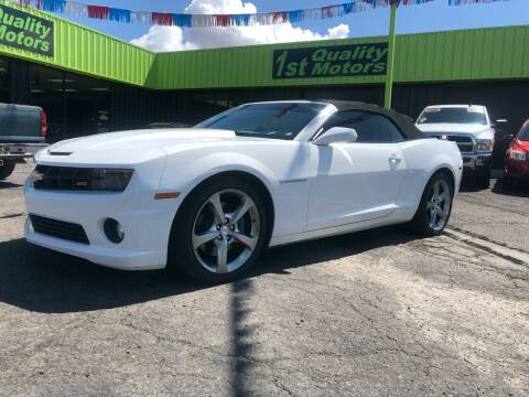 2013 Chevrolet Camaro for sale at 1st Quality Motors LLC in Gallup NM