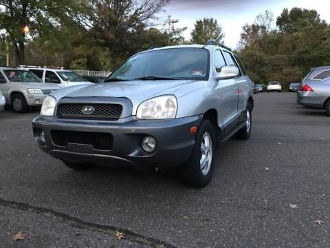2004 Hyundai Santa Fe for sale at Starz Auto Group in Delran NJ