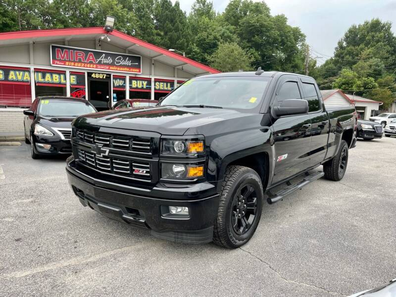 2015 Chevrolet Silverado 1500 for sale at Mira Auto Sales in Raleigh NC