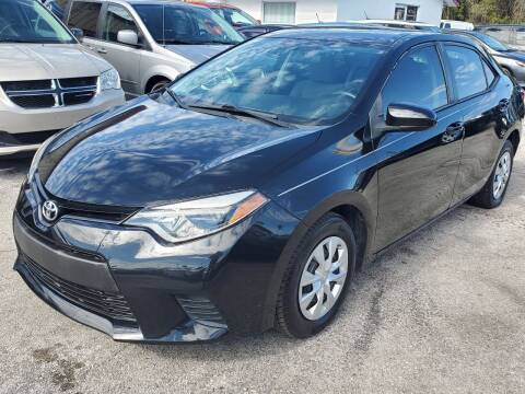 2016 Toyota Corolla for sale at Mars auto trade llc in Kissimmee FL