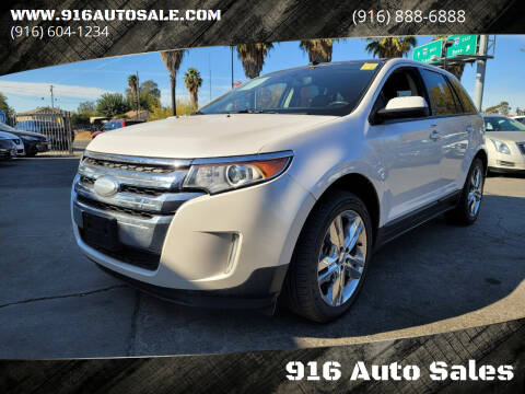 2013 Ford Edge for sale at 916 Auto Sales in Sacramento CA