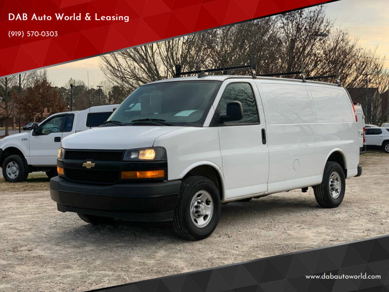 2018 Chevrolet Express Cargo for sale at DAB Auto World & Leasing in Wake Forest NC