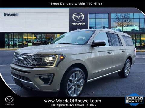 2018 Ford Expedition MAX for sale at Mazda Of Roswell in Roswell GA