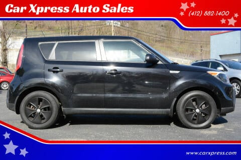 2016 Kia Soul for sale at Car Xpress Auto Sales in Pittsburgh PA