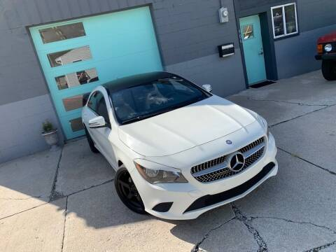 2014 Mercedes-Benz CLA for sale at Enthusiast Autohaus in Sheridan IN