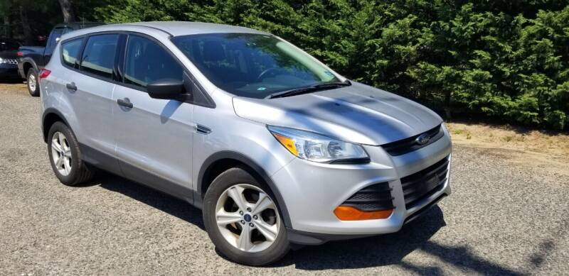 2016 Ford Escape for sale at Central Jersey Auto Trading in Jackson NJ
