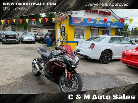 2011 Suzuki GSX-R1000 for sale at C & M Auto Sales in Detroit MI