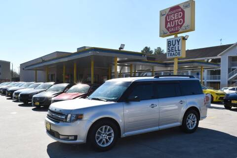 2016 Ford Flex for sale at Houston Used Auto Sales in Houston TX