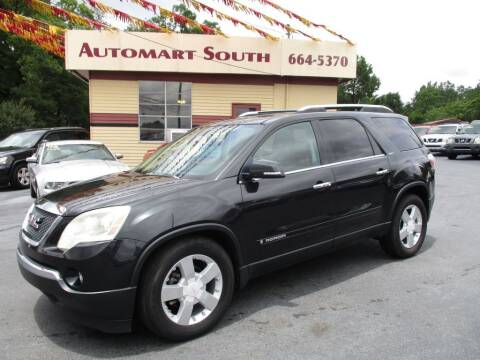 2008 GMC Acadia for sale at Automart South in Alabaster AL