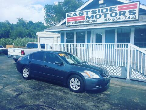 2011 Nissan Altima for sale at EASTSIDE MOTORS in Tulsa OK