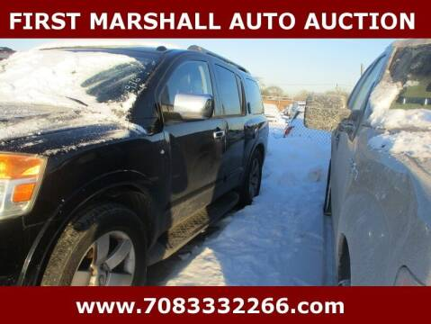 2008 Nissan Armada for sale at First Marshall Auto Auction in Harvey IL